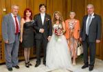Джина и Джон на сватбата на дъщеря си Кристина