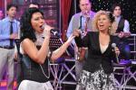 Силвия и Теди Кацарови пяха в шоуто на Иван и Андрей