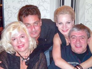 Кристина и Михаил Белчеви с Боряна и Андрей Баташови