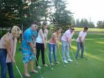 Любо победи в турнира по голф за певци