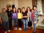 Мая Нешкова със семейството си, звездите от Хари Потър и общи приятелки