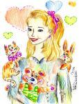 Росица Кирилова - шарж от Ива Димитрова