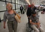 Гого и Ева при пристигането си на Летище София от Израел